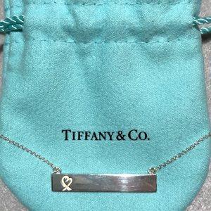 Tiffany & Co. Loving Heart Bar Pendant
